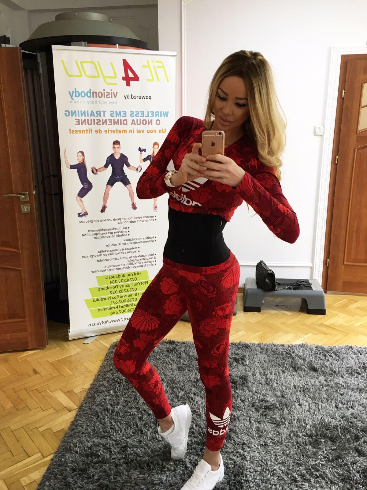 Bianca Drăgușanu face din nou sport