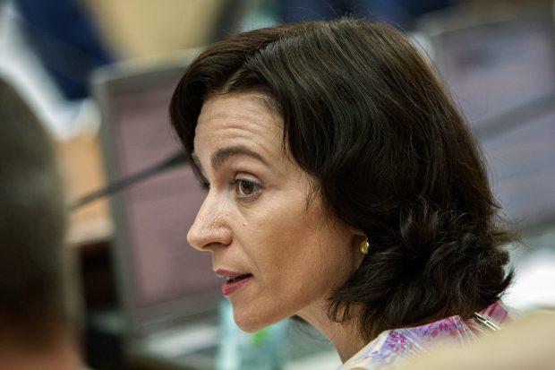 Maia Sandu, candidata proeuropeana la alegerile prezidentiale din Republica Moldova
