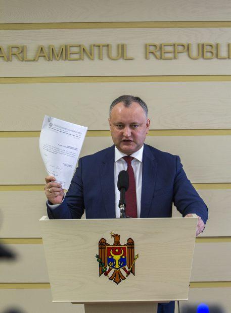 Igor Dodon, candidatul prorus la alegerile prezidențiale din Republica Moldova
