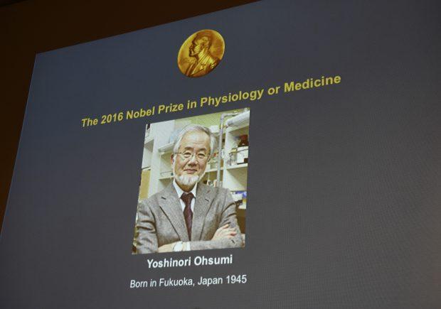 Cercetătorul japonez Yoshinori Ohsumi a castigat premiul Nobel pentru medicină 2016