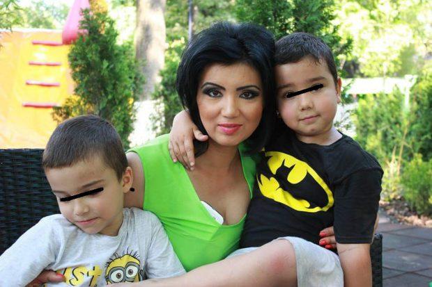 Adriana Bahmuțeanu, mesaj emoționant pentru cei doi băieți