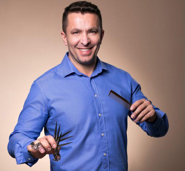 Cristi Pascu, hairstylist