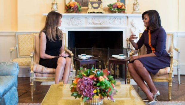 Melania Trump si Michelle Obama