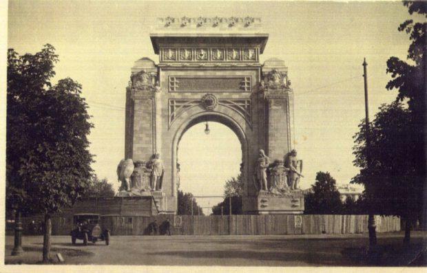 arcul de triumf 1922
