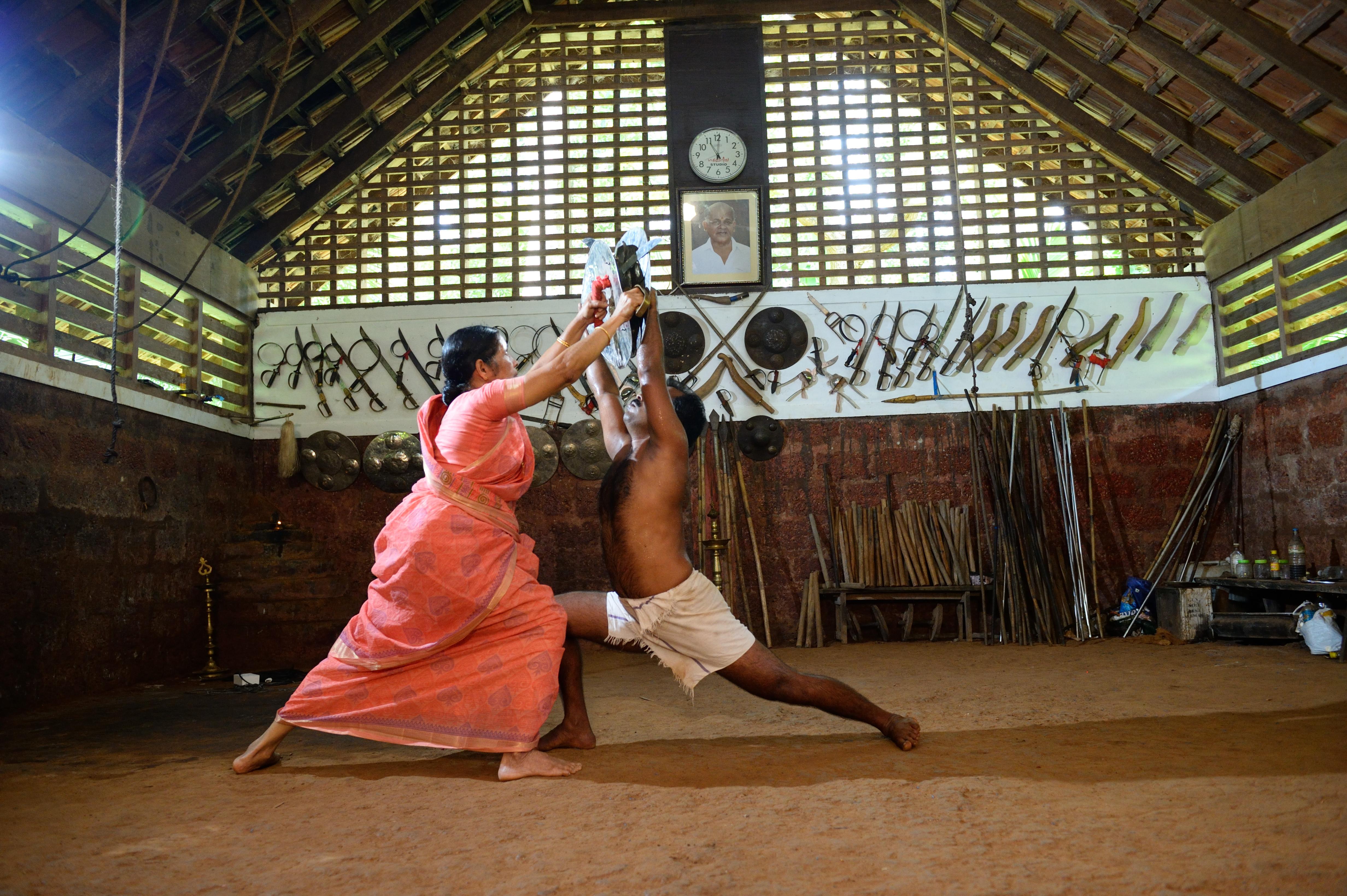 Meenakshi Raghavan practică artele marțiale de 66 de ani ș