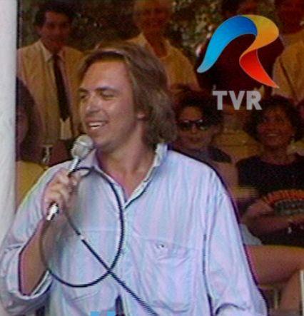 Prima apariție televizată a lui Horia Brenciu: la o emisiune realizată pe litoral, la Costinești