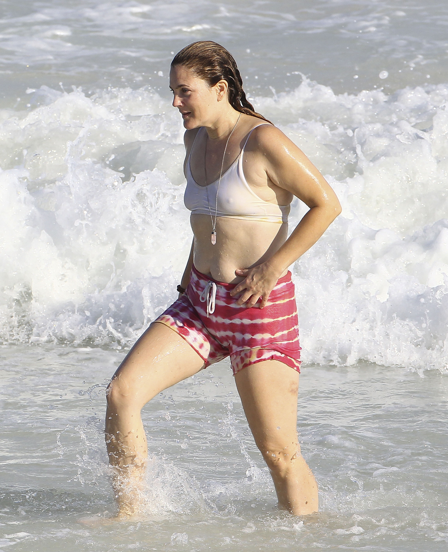 Drew Barrymore a pierdut lupta cu kilogramele