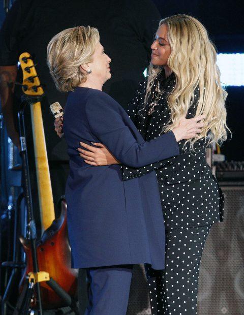 Hillary Clinton și Beyonce