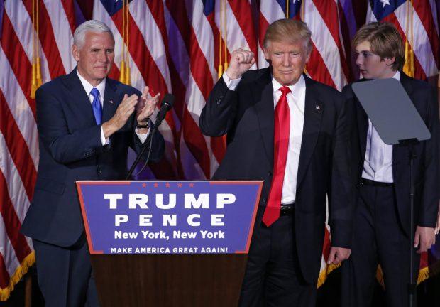 Donald Trump este noul președinte al SUA