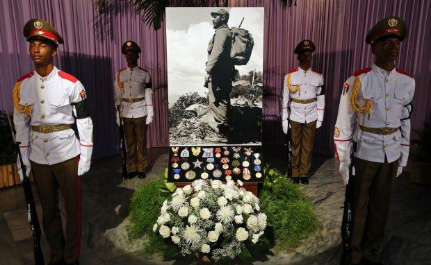 Ceremonii Havana, Cuba, în memoria lui Fidel Castro