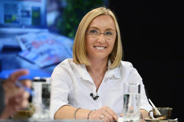 Gabriela Szabo a vorbit, miercuri 2 Noiembrie 2016, in studioul Pro Sport Live, despre strategia cu care se va prezenta la alegerile din 15 noiembrie, pentru functia de presedinte al Comitetului Olimpic si Sportiv Roman (COSR). MARIAN ILIE/MEDIAFAX FOTO