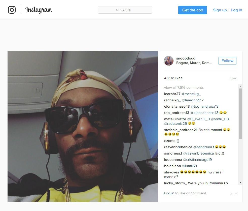 Snoop Dogg a făcut celebră localitatea Bogata din Mureș