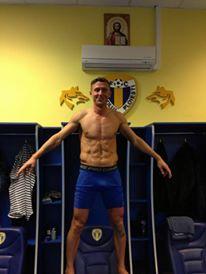 Daniel Chiriță e cel mai tare manechin din țară dintre fotbaliști și cel mai tare fotbalist dintre manechini!