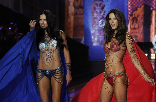 Adriana Lima și Alessandra Ambrosio, Victoria's Secret