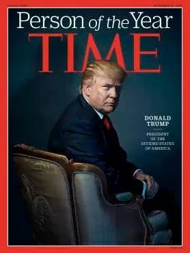 Donald Trump este omul anului 2016