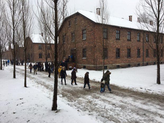 Lagărul Auschwitz a fost de ziua Națională a României un obiectiv turistic aflat pe harta a sute de români