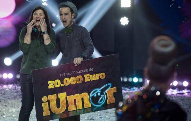 Maria Popovici a câștigat IUmor. Cu cine va împărți banii