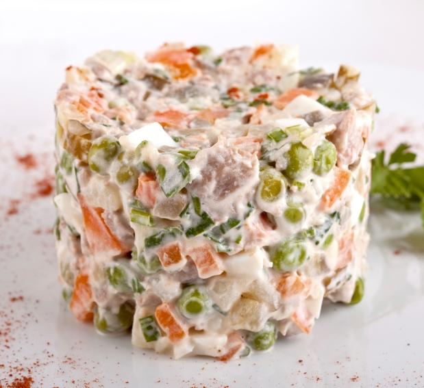 Rețete de Crăciun. Rețetă de salată boeuf
