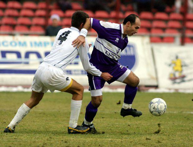 Echipa FC Arges a invins pe teren propriu cu scorul de 5-1 (3-0), formatia Sportul Studentesc, in cadrul etapei a XV-a a Diviziei A. In imagine, Jean Vladoiu.