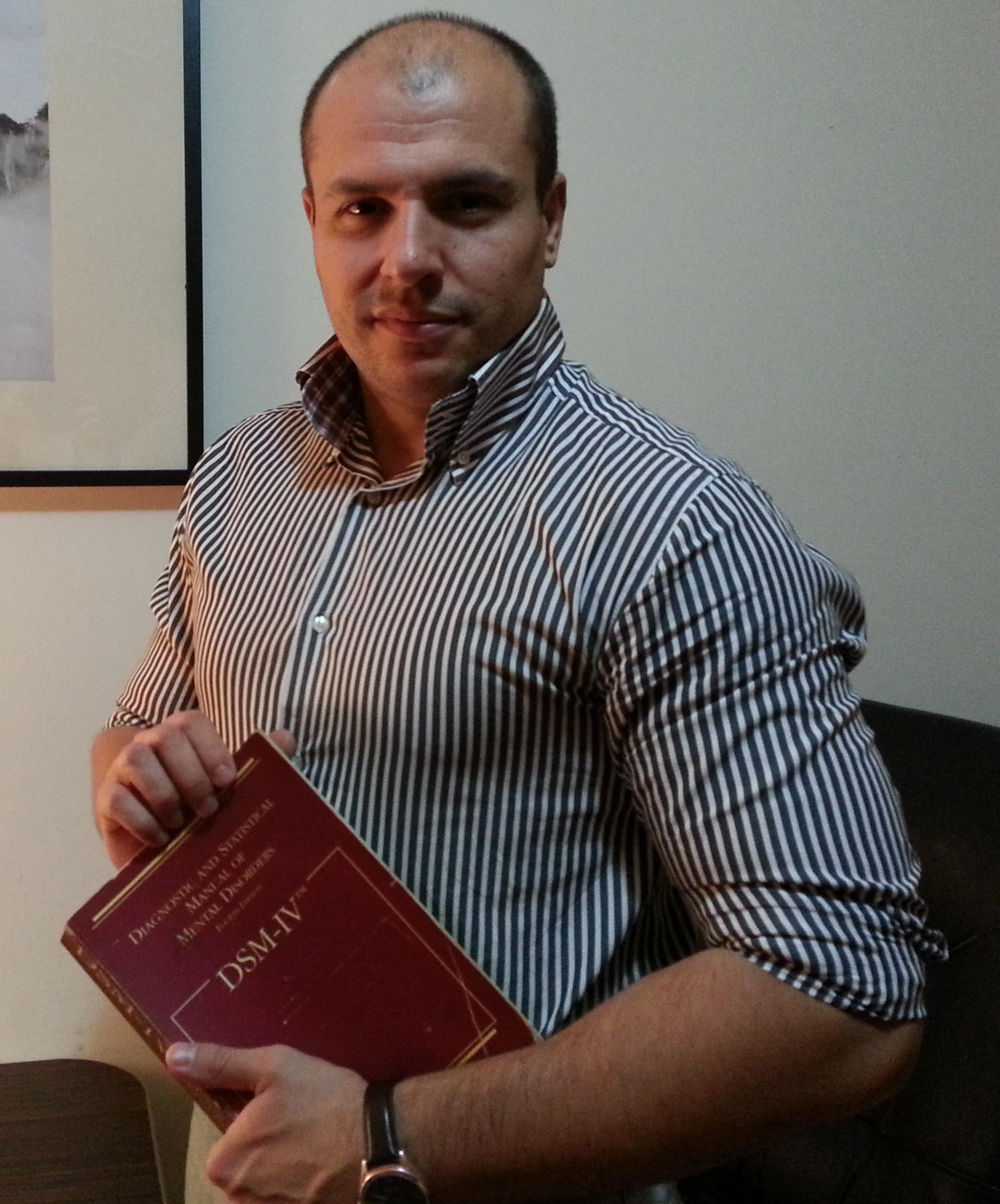 Psiologul Cezar Laurențiu Cioc
