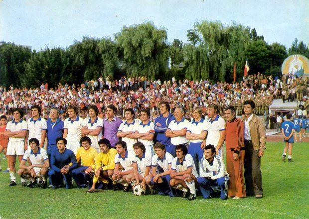 FC argeș, campioană în 1979.