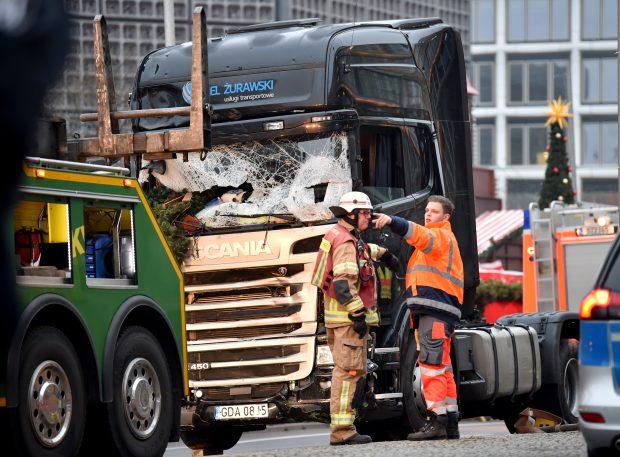 Autoritățile au îndepărtat camionul de la locul tragediei din Berlin