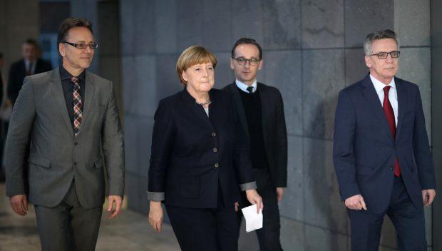 Angela Merkel, conferință de presă despre atacul terorist de la Piața de Crăciun din Berlin