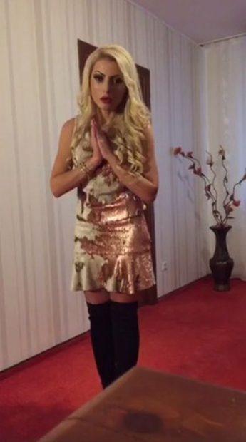 Fiica lui Nicolae Guță șochează din nou după ce a slăbit. Cum s-a filmat