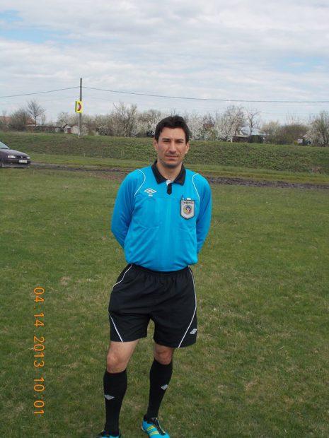 Noni Sterea, arbitrul bătut la Mitreni FOTO: Facebook