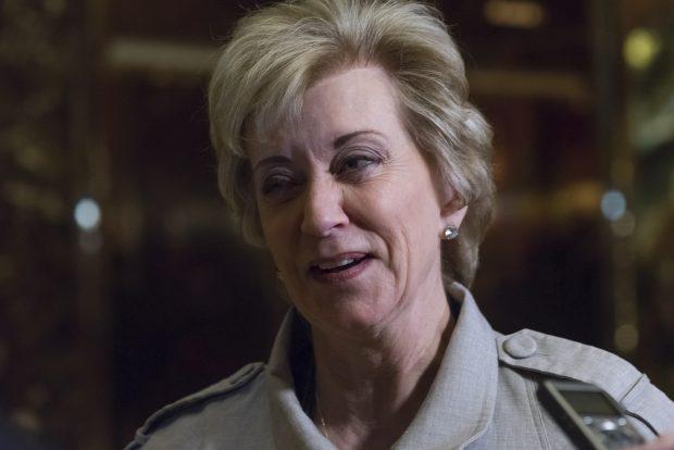 Administratorul Întreprinderilor Mici Linda Mcmahon