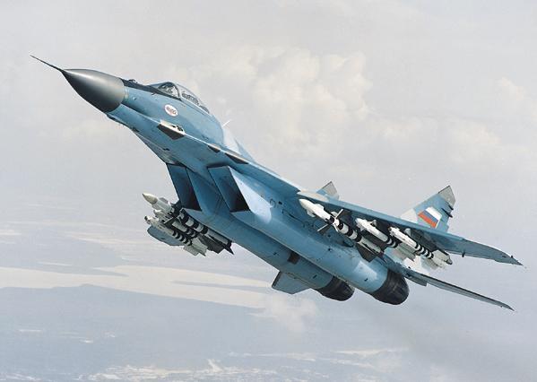 Avion rusesc Mig29