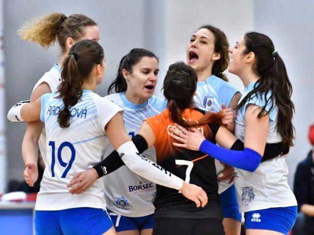 CSM București a învins pe CSM Târgoviște, în Divizia A1 feminină de volei. Rezultatele etapei