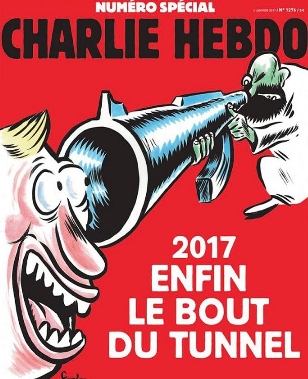 Doi ani de la atentatele de la Charlie Hebdo, coperta revistei