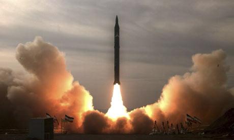 Lansare experimentală de rachetă iraniană Sejil-2