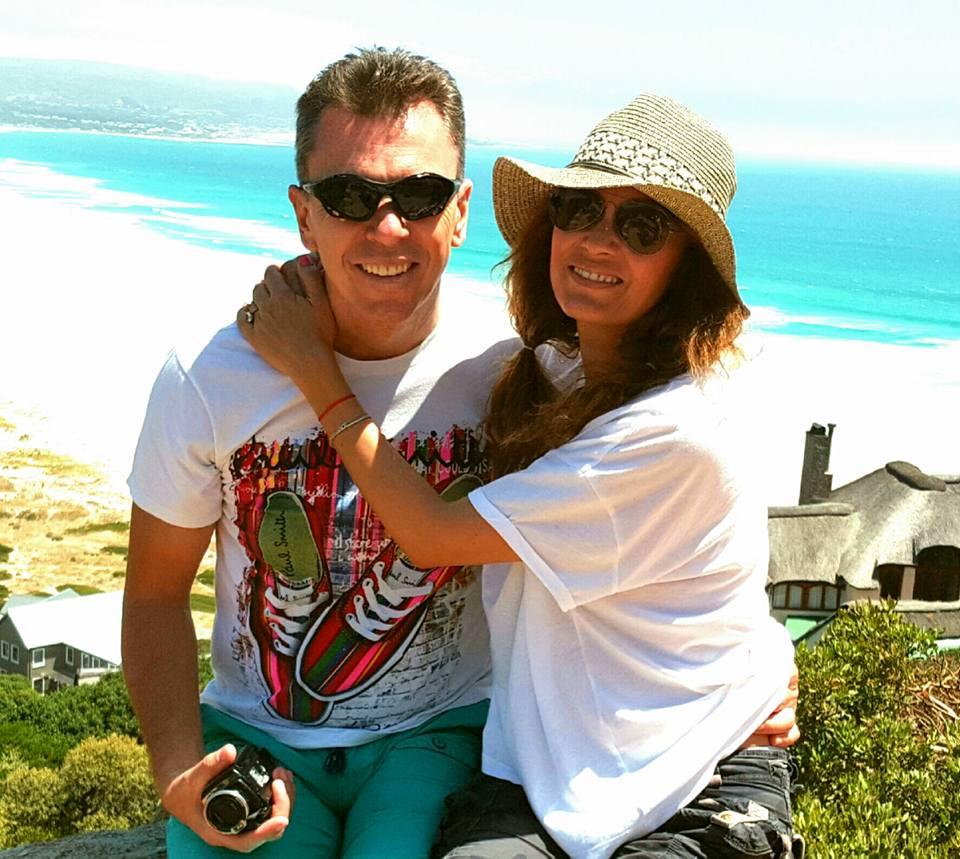 Anca Țurcașiu și soțul ei, medicul Cristian Georgescu, își petrec vacanța în Africa de Sud