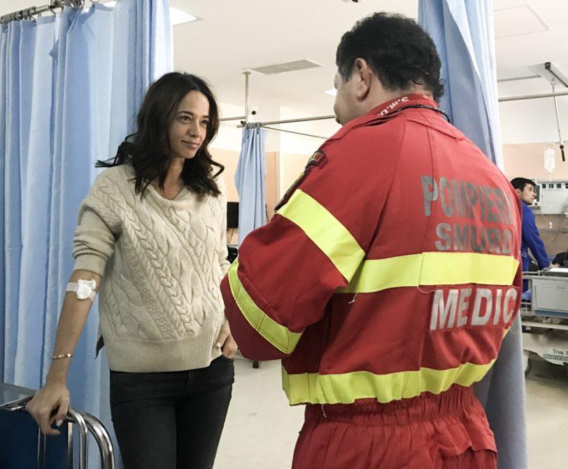 Andreea Raicu a ajuns de urgență la spital