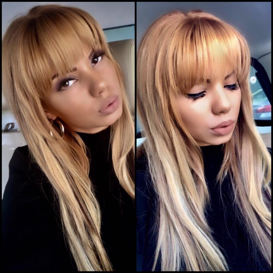 Beyonce de România și-a schimbat look-ul: și-a făcut breton