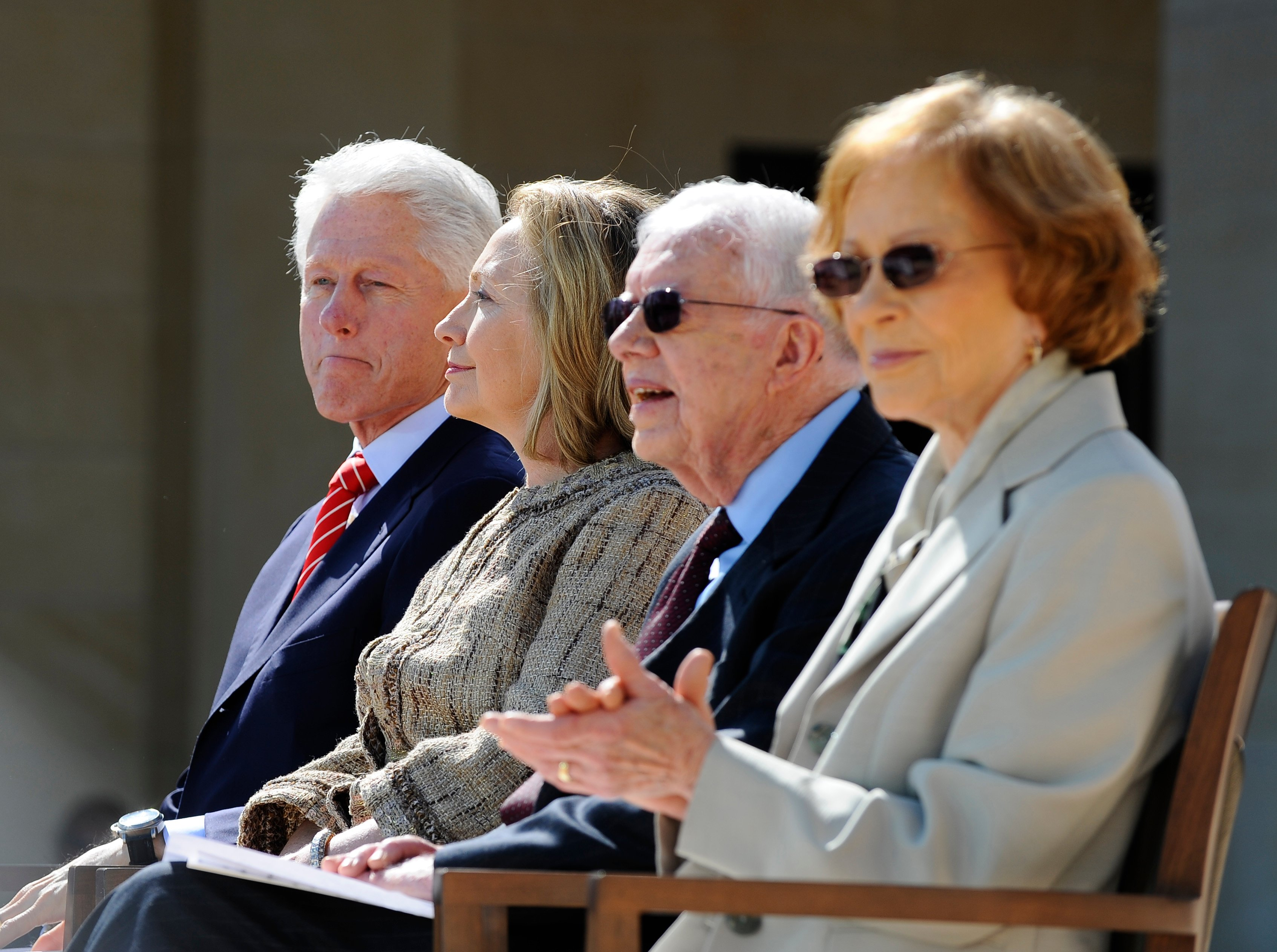 Opening Ceremony for the George W. Bush Presidential Library in Dallas, Texas