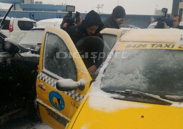 Fernando Boldrin a luat taxiul de la aeroport