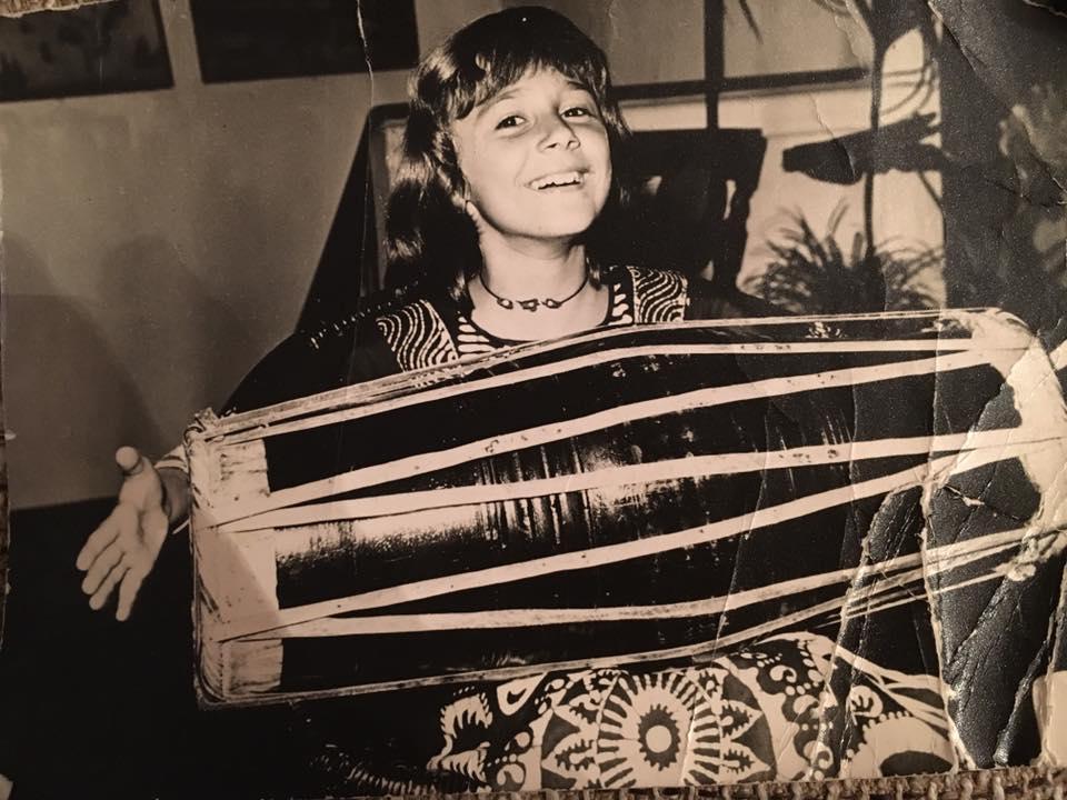 Dana Săvuică în copilărie