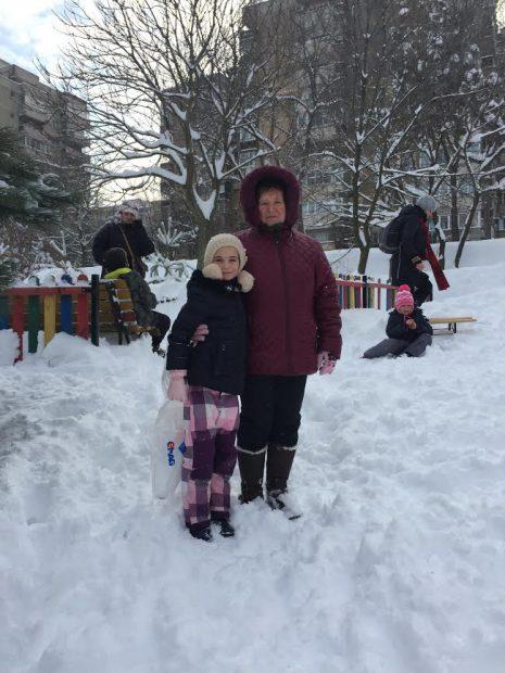 Hai afară la zăpadăăăă!