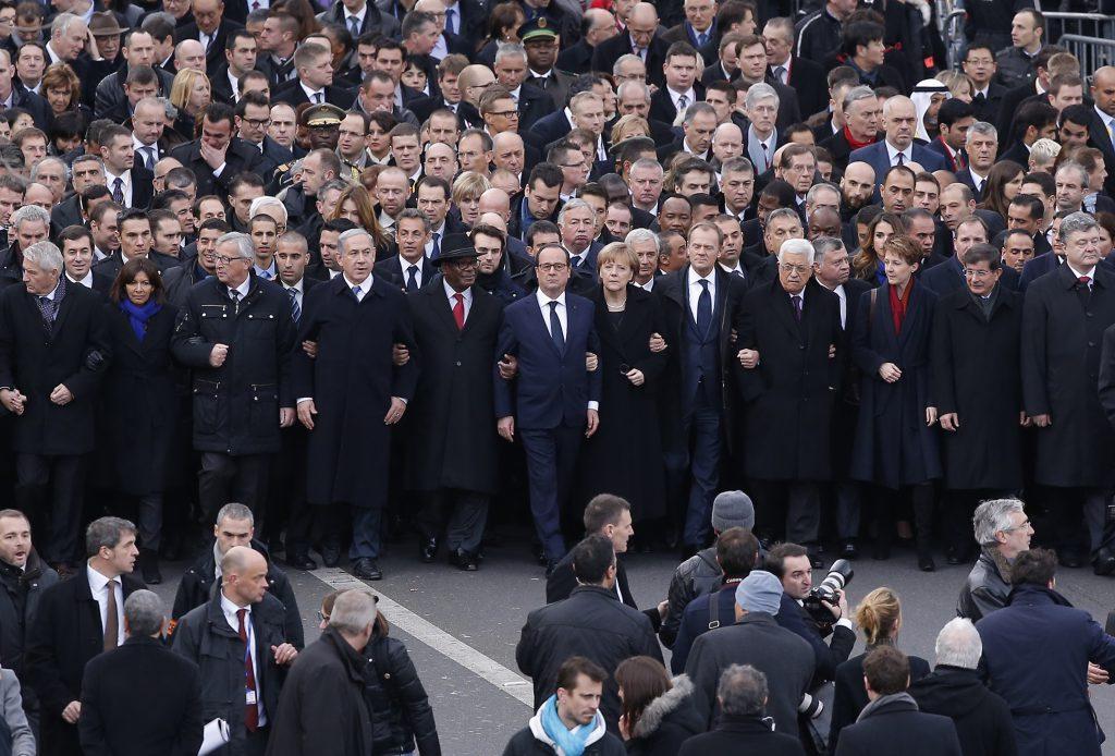 Marș pentru unitate, Charlie Hebdo