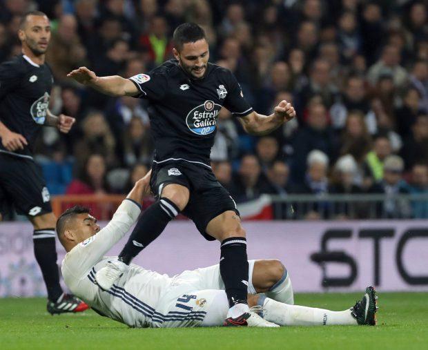 """Spania, etapa a 19-a. Florin Andone, gol pentru La Coruna! Real, victorie """"scurtă"""" cu Malaga! Program, televizări şi clasament   VIDEO"""