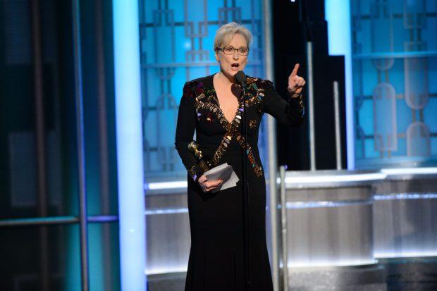 Meryl Streep l-a criticat pe Donald Trump la gala Globurilor de Aur