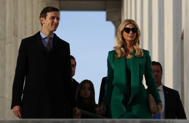 Ivanka Trump şi Jared Kushner