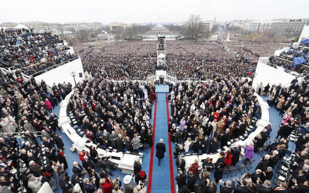 Ceremonia de învestire a lui Donald Trump