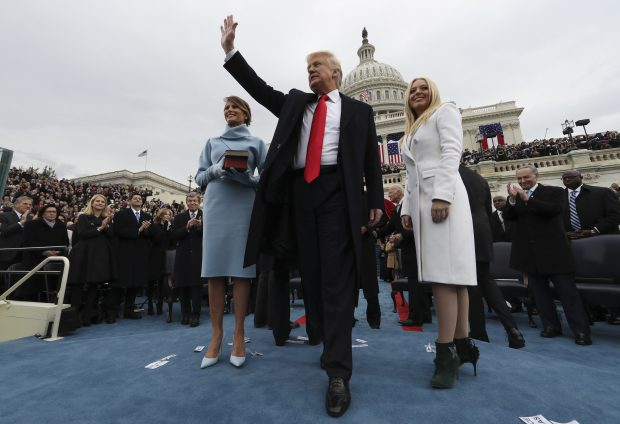 Donald Trump, ceremonie de învestire