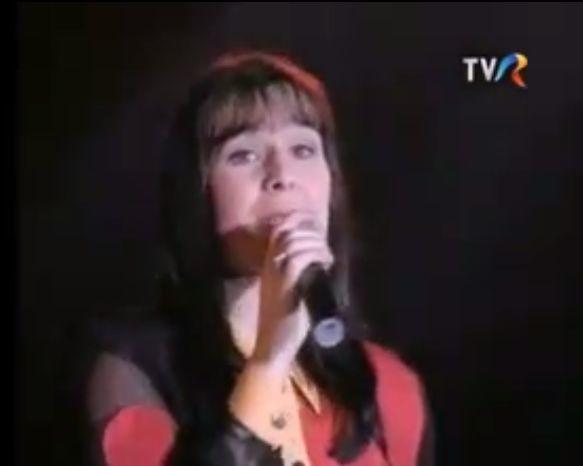 Mălina Olinescu, în anul 1996, când avea doar 21 de ani