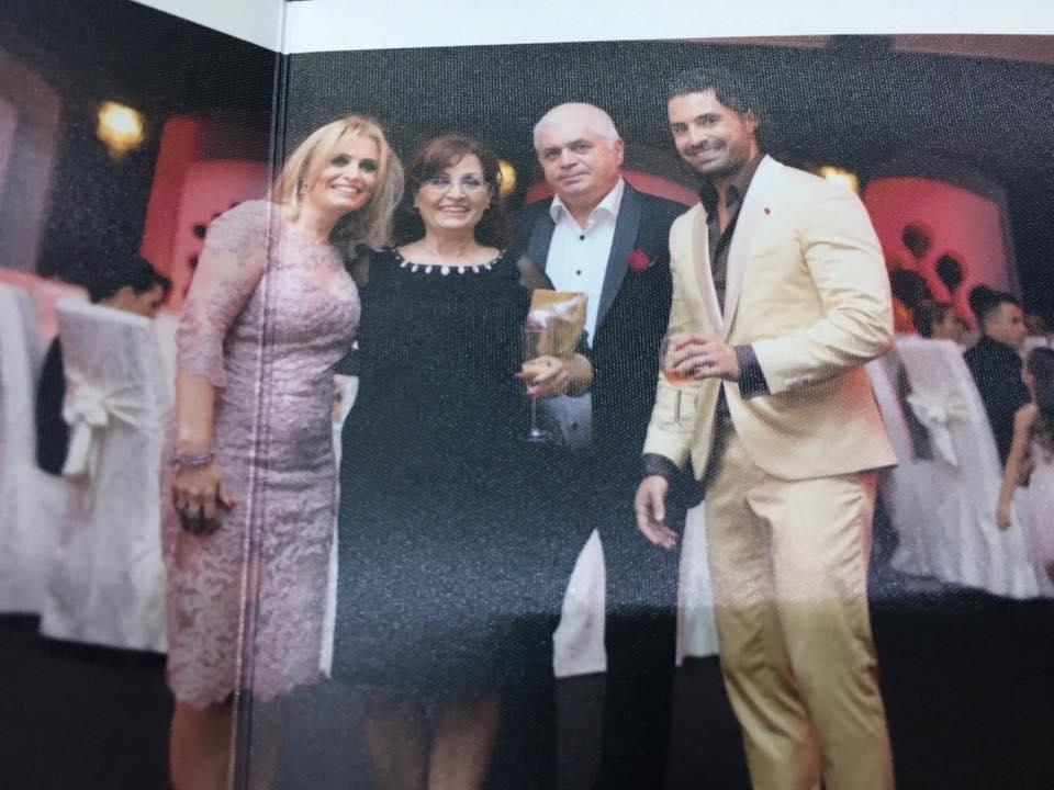 Imagine de arhivă cu mama lui Pepe și familia ei