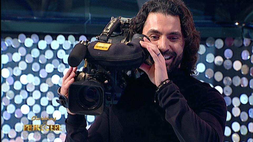 Pepe devine cameraman la emisiunea